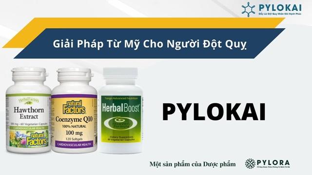 Bộ ba dược thảo PyLoKai phòng ngừa đột quỵ